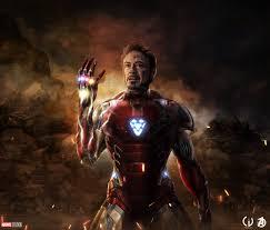 iron man last scene in avengers endgame