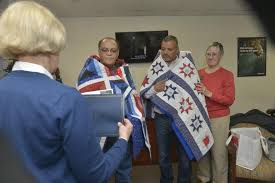 Quilts of Valor presented to Millsboro veterans   Cape Gazette