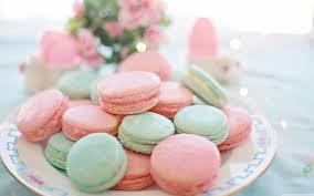 pastel macarons aesthetic ultra hd