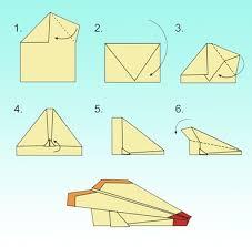Як зробити літачки орігамі  ЯкПросто