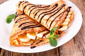 american pancakes and simple crepes