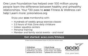 acac fitness wellness centers