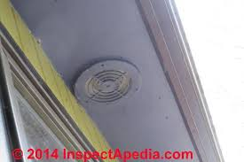 bathroom exhaust fan terminations at