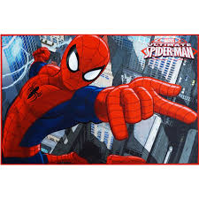 Marvel Spiderman Rug Multi Color 3 10 X 2 6 Walmart Com Walmart Com