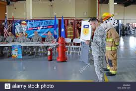 Brig. Gen. Cox signs off for Fire Safety Week. The ceremony was ...