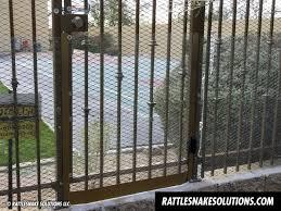 Rattlesnake Fencing Rattlesnake Solutions