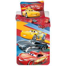 cars 3 rotary single duvet bedding set