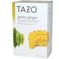 tazo teas green ginger green tea 20