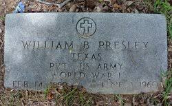 William Brack Presley (1889-1960) - Find A Grave Memorial