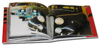 coffee table book vintage cars