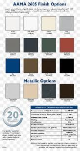 color chart automotive paint color