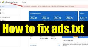cara mengatasi masalah ads txt di