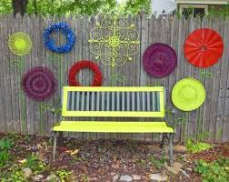 diy ideas to decorate your garden fence