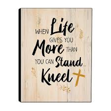 buy christian wall decor when life gives you more than you can