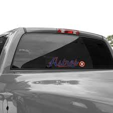 Wincraft Houston Astros 3 X 10 Perfect Cut Decal Navy Blue