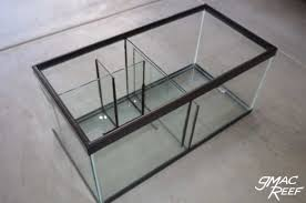 reef tank sump diy glass baffles guide