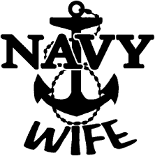 Navy Wife Car Or Truck Window Decal Sticker Or Wall Art All Time Auto Graphics