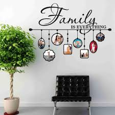 Family Picture Frame Wall Decal Style And Apply