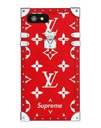 lv supreme iphone 7 plus wallpaper