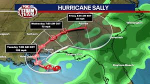 Hurricane Sally moving slowly, will ...