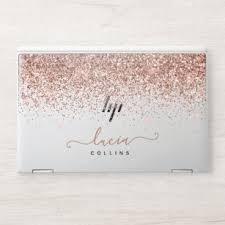 Glitter Laptop Stickers Skins Zazzle