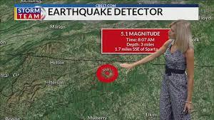 5.1 earthquake felt across NC - YouTube