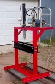 homemade electric hydraulic press