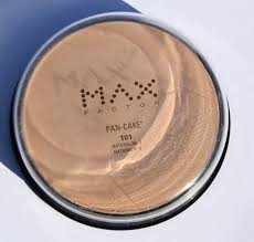 max factor pan cake water activated