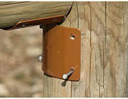 Amazon Com Steel To Wood Fence Bracket