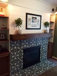 plank wall fireplace modern rustic