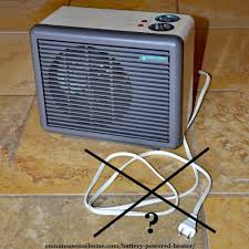 do battery powered e heaters or