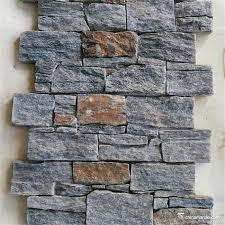 Çimento ile doğal taş duvar dekoratif çıkıntı taş yapı malzemesi ...