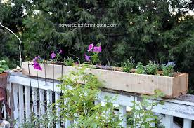 Cheap And Easy Cedar Fence Board Planters Flower Patch Farmhouse
