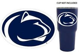 Penn State Nittany Lions 4 Premium Vinyl Decal Sticker For Tumbler Cup Car Ebay