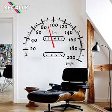 Wall Decals Speedometer Car Motocross Wall Sticker Boy Room Play Room Speedometer Wall Decal Kids Room Bedroom Vinyl Home Decor Wall Stickers Aliexpress