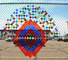 30 Best Upcycle Fence Ideas Fence Fence Art Chain Link Fence