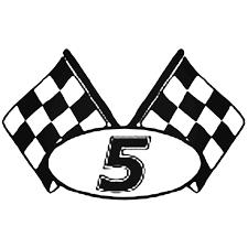 Nascar Racing S Kyle Busch Nascar 5 Checkered Flag Decal