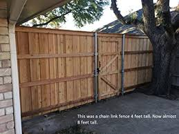 Extend A Fence Fence Extender 1 Foot Extension 2 3 8 Or 2 1 2 Post