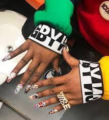 acrylic nails in the industry