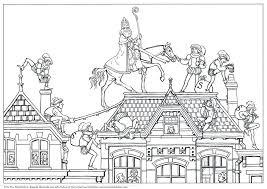 Kleurplaat Voor De Sint Sinterklaascomite Nieuwerbrug