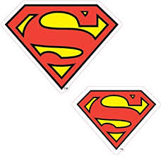 Amazon Com Enjoy It Dc Comics Justice League Superman Logo Car Stickers 2 Pieces Outdoor Rated Vinyl Sticker Decal Automotive
