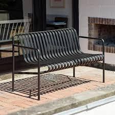 hay palissade dining garden bench