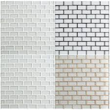 be all about grout white glass tile
