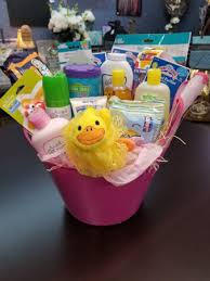 newborn baby gift basket in milan