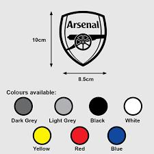 Arsenal Fc Logo Premium Vinyl Sticker Decal Epl Soccer Football Design Craft Art Prints On Carousell