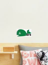Hartford Whalers Alternate Logo Photographic Print By Bernedmytoast Redbubble