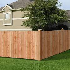 Unbranded 3 1 2 Ft H X 8 Ft W Cedar Flat Top Privacy Fence Panel 236744 The Home Depot
