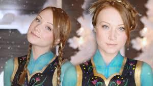 anna frozen makeup tutorial clothes