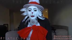 the cat in the hat makeup you