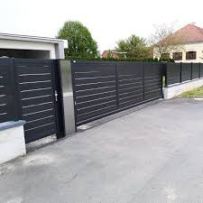 Top 60 Best Modern Fence Ideas Contemporary Outdoor Designs Modern Fence Design Modern Fence House Gate Design